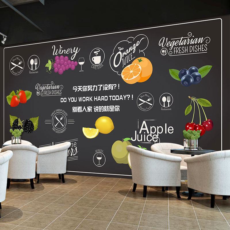 Say It Creative Personalized Shop: Beibehang Custom 3D Hand Painted Blackboard Creative