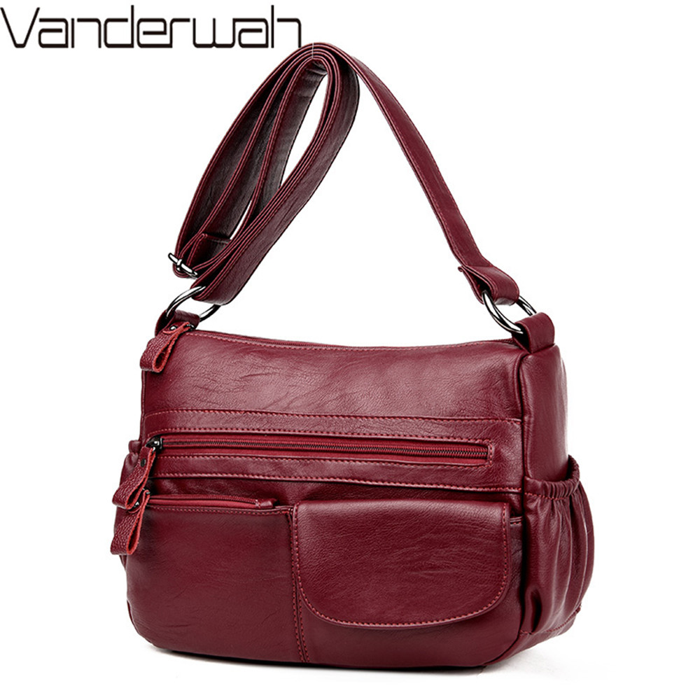 Sac A Main Bolsa Feminina 2018 Crossbody Bags For Women Messenger Bag Designer Handbags High Quality Female Leather Shoulder Bag стоимость