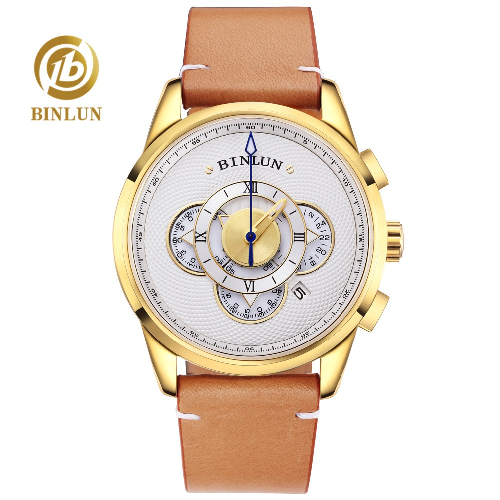 BINLUN 18K Gold Luxury Automatic Watch For Men Waterproof Sports Watch Auto Date Second Timer Mechanical Watch Fashion WatchesBINLUN 18K Gold Luxury Automatic Watch For Men Waterproof Sports Watch Auto Date Second Timer Mechanical Watch Fashion Watches