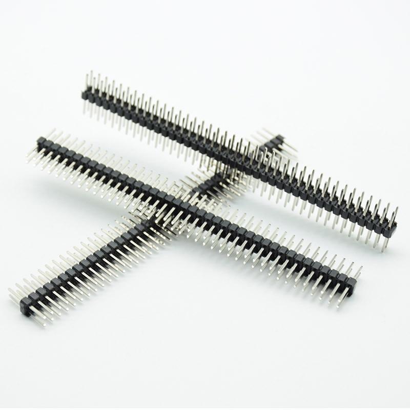 5PCS 2.54mm Male Pin Header, 0.1