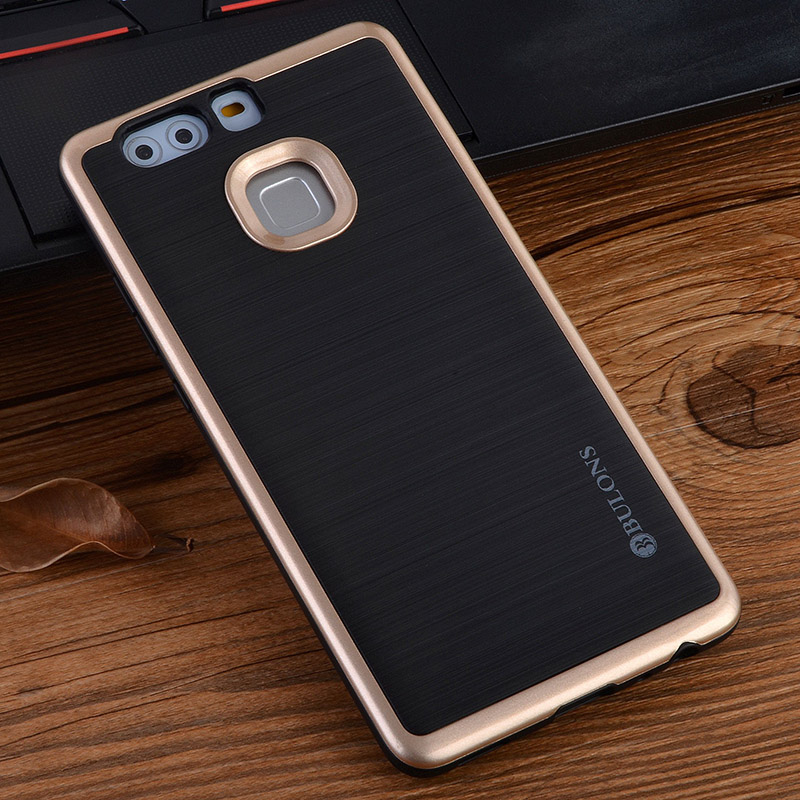 For <font><b>HUAWEI</b></font> p9 plus <font><b>Case</b></font> Shockproof Dual Layer Protection Soft TPU &#038; Hard PC Anti Knock Cell <font><b>Phone</b></font> <font><b>Case</b></font> Defender Protective shell