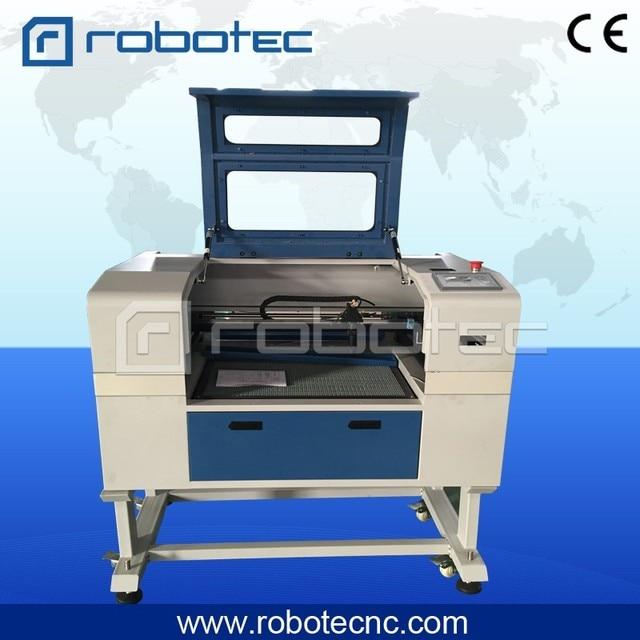 Jinan bon effort de travail 6090 6040 5030 laser mini machine de découpe pour le verre