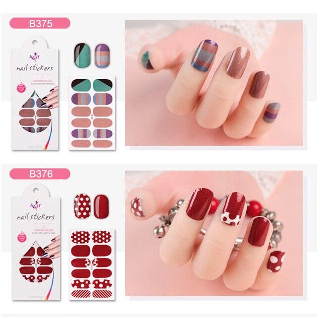 10pcs Diy Nail Art Stickers Decoration Decals Fashion Non Toxic Nail