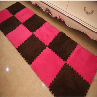 9Pcs Lot Baby Crawling Cutting Area Rug Living Room Home Bedroom Baby Play Puzzle Mats Eva