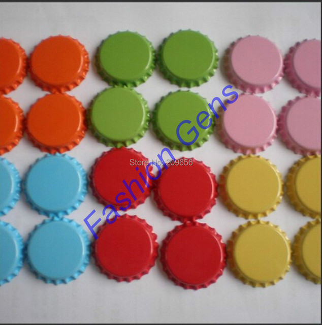 Wlesale 11pcs/lot Tinplate Beer Bottle Caps For DIY Jewelry ...