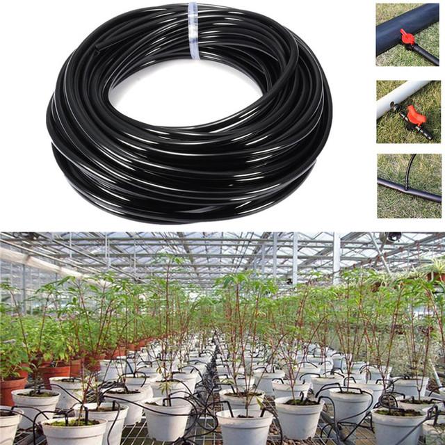 5M/10M/15M/20M/25M/30M Watering Tubing PVC Hose Pipe 4/7mm Drip Irrigation Pipe Watering Sprinkler Home Garden Micro Drip Irriga