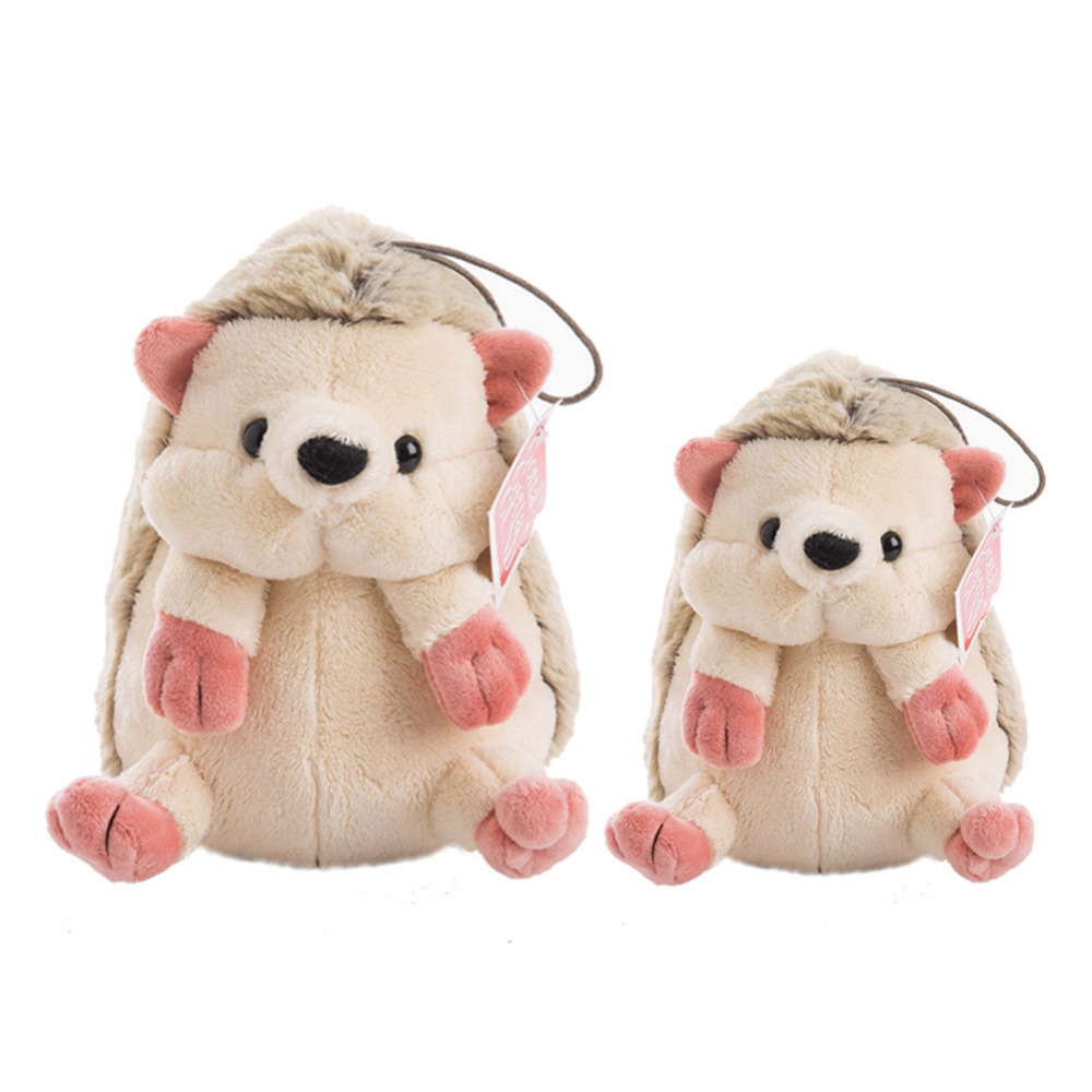 Cute Cartoon Plush Hedgehog Dolls Soft Cotton Stuffed Lovely Hedgehog Kawaii Pillow Plush Toys Birthday Gifts for Kids
