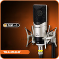 TRanshine MK-4 karaoke microphone 3m cable capacitor microphone singing recording microphones Low noise high sensitivity