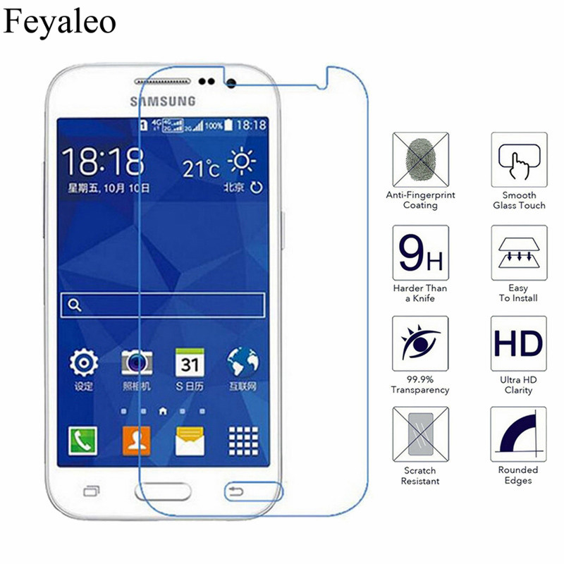 9H Tempered Glass For Samsung Galaxy Core Prime G360 G361 G3608 Duos SM-G361H G360H G360BT Case Screen Protector Protective Film