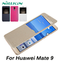 Nillkin For Huawei Mate 9 Case Hight Quality Luxury PU Leather Case For Huawei Mate 9 Sleep Funtion Cell Phone Cover