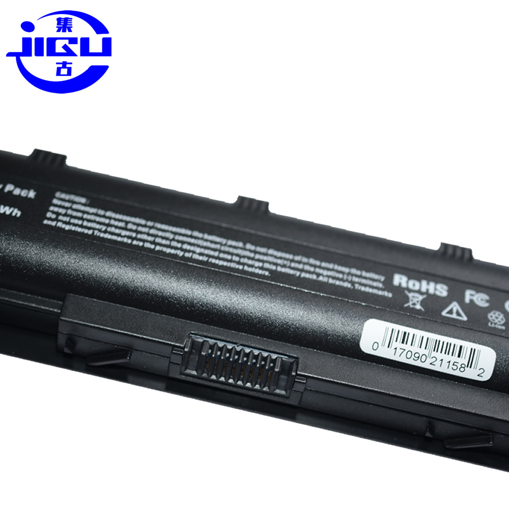 JIGU 12 ячеек Батарея для hp Compaq MU06 MU09 CQ42 CQ32 G62 G72 G42 G72 G4 G6 G7 593553-001 аккумулятор большой емкости DM4 Батарея