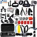 Kit de accesorios gopro go pro hero 5 dsdaction/4/3/2 Unidades trípode de montaje para cámara xiaomi yi/sjcam/eken h9r 13A