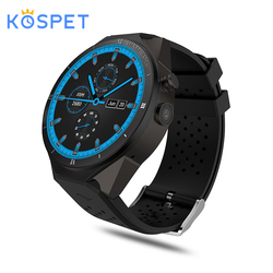 KW88 Pro Smart Horloge Smartwatch Android 7.0 Horloges Telefoon 1 GB + 16 GB Smart horloges GPS WiFi 3G bluetooth vs LEM5 Pro smartwatch