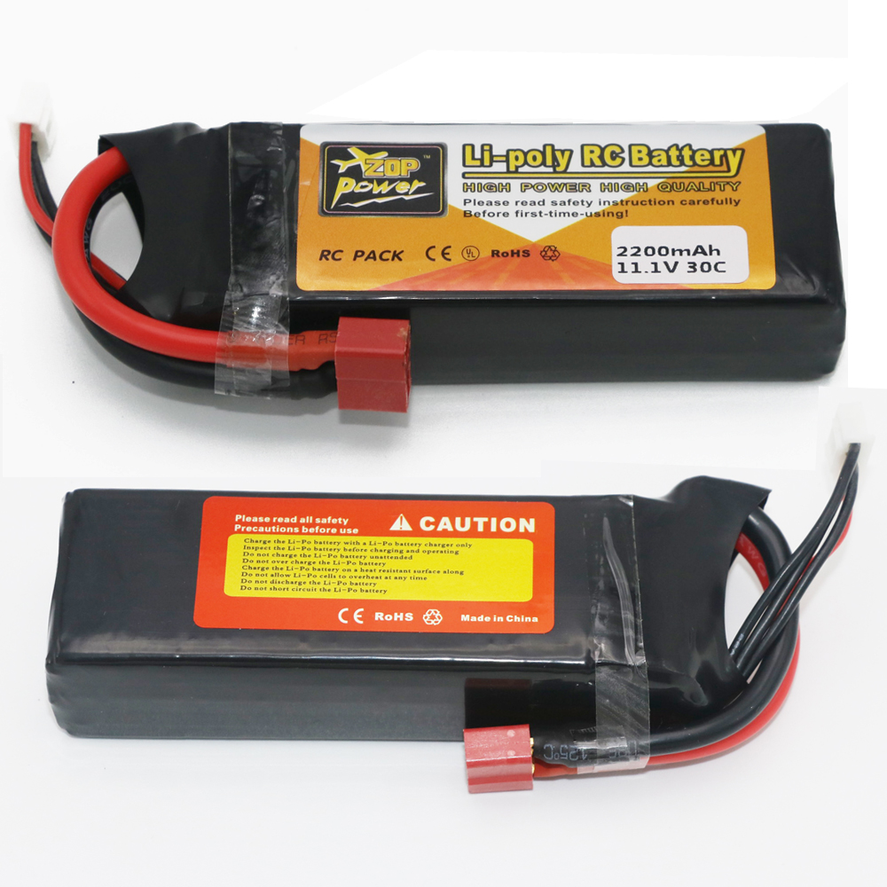 1pcs ZOP 11.1V 2200mAh 30C Li-po Upgrade Powerful RC Battery For Helicopters/Boats remote control toys Li-Polymer battey 3pcs 3 7v 900mah li po battery green european regulation charger and cable for remote control xs809 xs809hc xs809hw quadcopter