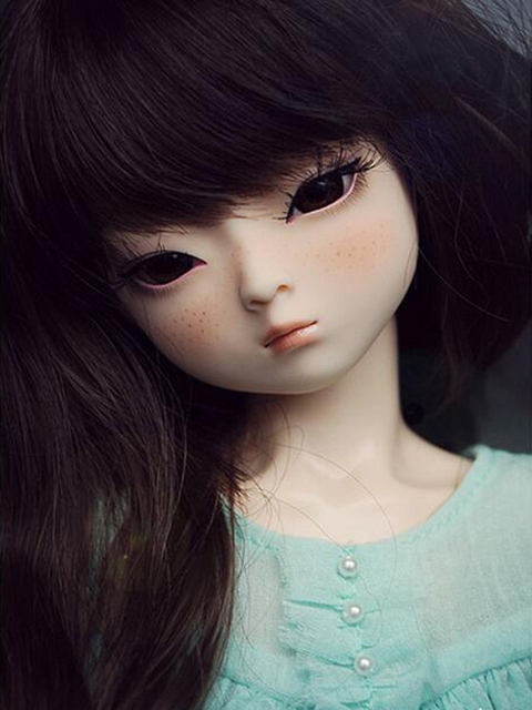 HeHeBJD 1/4 Girl Dami bjd (open eyes or ELF eyes)  beautiful girls for sale free shipping 1