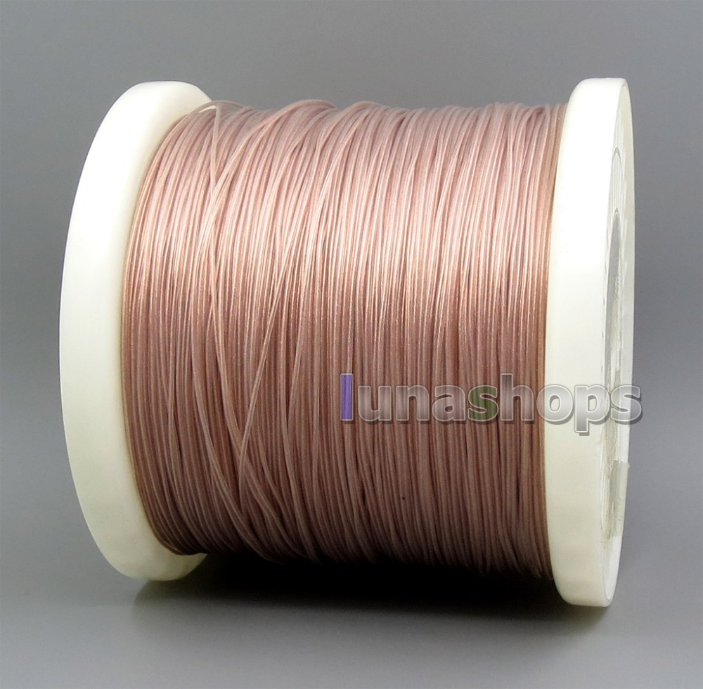 13 cores litz wire 6N Pure OCC Clear PU Insulating Layer(Not Tefl)0.08*130.9mm Wire Diameter:0.9mm