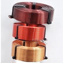 1.0 millimetri Hollow Induttore Tridimensionale Ad Alta Purezza Rame Oxygen free Speaker Divisore di Frequenza Bobina di Rame Audio Accessori