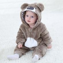 SAILEROAD Baby Koala Kigurumi Animal Cartoon Cosplay Costume Infant Child Bodysuit Onepiece Onesie Flannel Comfortable kigurumi