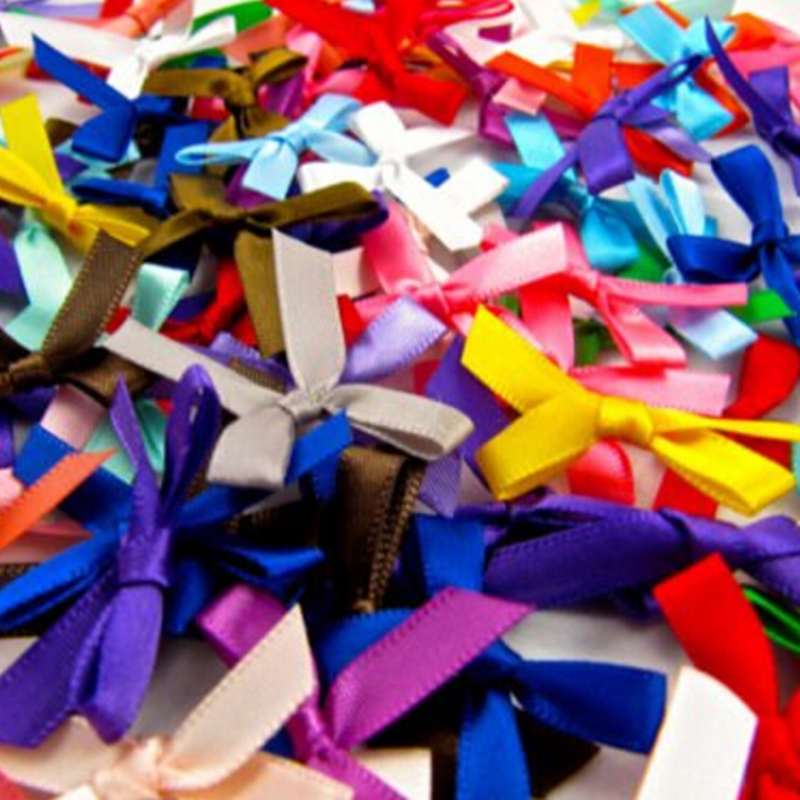 7mm DOUBLE FACED SATIN RIBBON  10m   various colours