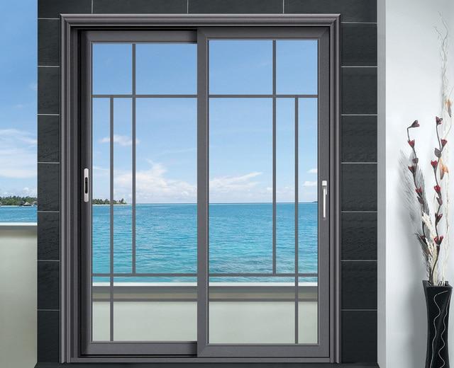 Double Glazing Aluminum Sliding Doors In Doors From Home Improvement
