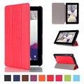 Горячая Для Amazon Новый Kindle Fire 7 E-Book Reader Cover Luxury магнит Флип Кожа PU Case Tri-fold Tablet Смарт Тонкий Стенд Крышка