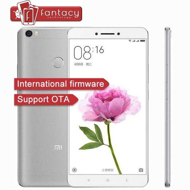 Оригинал Xiaomi Mi Max Премьер 32 Г ROM Snapdragon650 Гекса Основные Мобильный телефоны Отпечатков Пальцев ID 3 Г RAM FDD 4 Г CE MIUI 8 Глобальный ROM