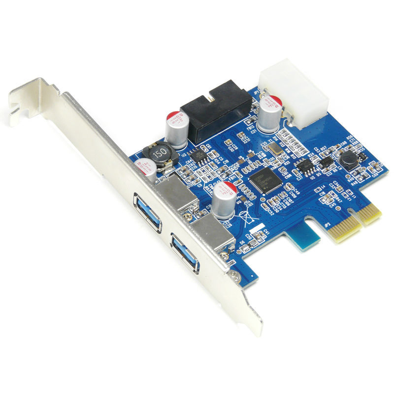Aliexpress buy 4 port usb 30 pcie pci express control card aliexpress buy 4 port usb 30 pcie pci express control card adapter20pin to 2 port usb30 hub 35 floppy bay front panel from reliable usb 30 pcie sciox Images