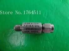 [БЕЛЛА] NARDA 23560-2 7-16.5 ГГц 2dB 2 Вт SMA коаксиальный аттенюатор исправлен
