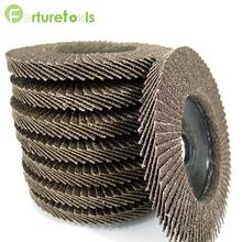10pcs thickening flap disc for metal and wood polishing dia 100 inch hole 16mm YL15010 цена и фото