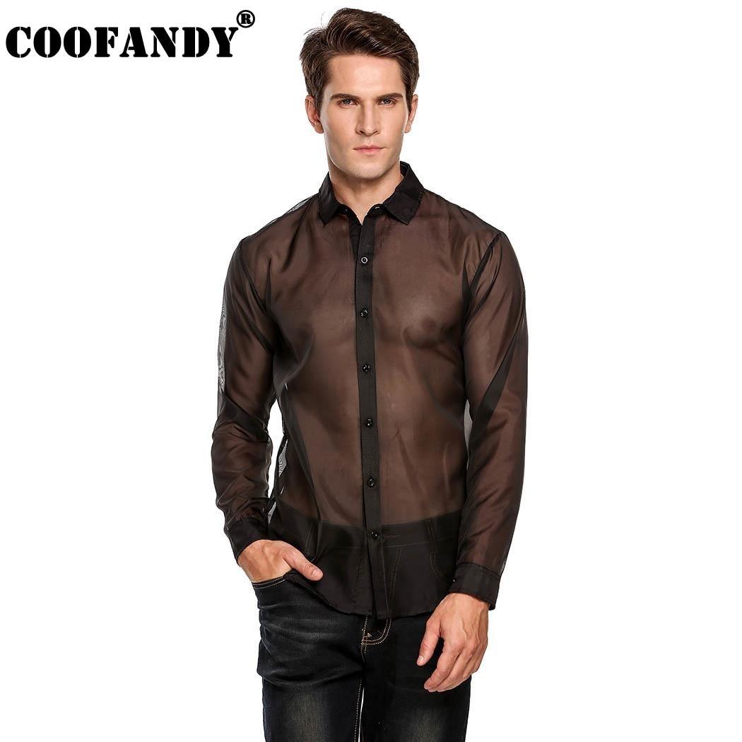 Coofandy 2017 stylish male wear men 39 s fashion long sleeve for Stylish dress shirts for men