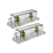 2 pcs high quality Plug-in type 150A Gold-plated Fuse and ANL Holder for car truck