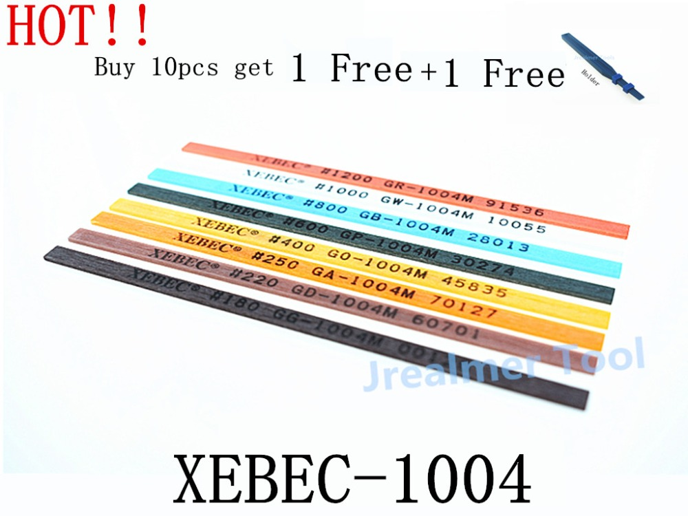 Jrealmer 1pcs Xebec 1004 Ceramic Whetstone Ceramic Fiber Whetstone Japan Original Super Stone Lapping Tool