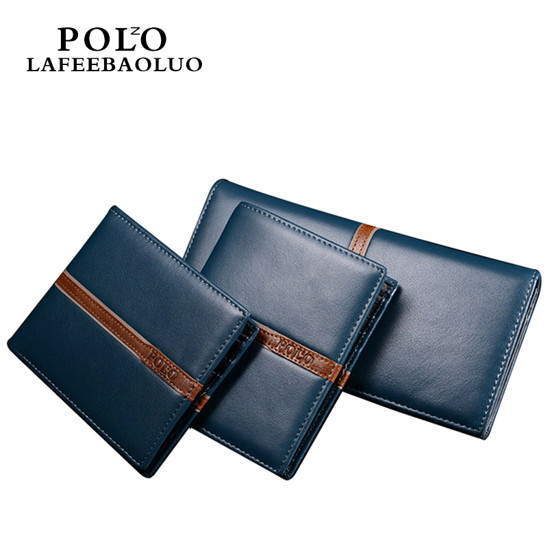 POLO Wallet Men Wallet POLO Men's 100% Genuine Leather Luxury Brand Striped Wallets Male Clutch Money Bag Purse Portfolio Man 2017 luxury brand men genuine leather wallet top leather men wallets clutch plaid leather purse carteira masculina phone bag