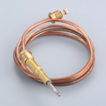 Fireplace 27.5inch Thermocouple Flame Failure Safety Device Temperature Sensor Connection Thermocouple Wire 700mm M11 M10 все цены