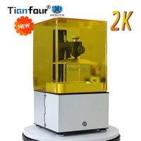 Новый Tianfour К 2 к Jewelry № 1 SLA/DLP/ЖК дисплей 3D принтеры с высоким разрешением подходит для ювелирных изделий стоматологии