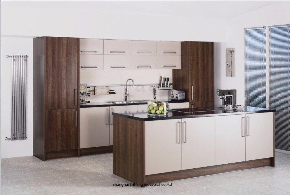 Mélamine/mfc armoires de cuisine (LH-ME027)