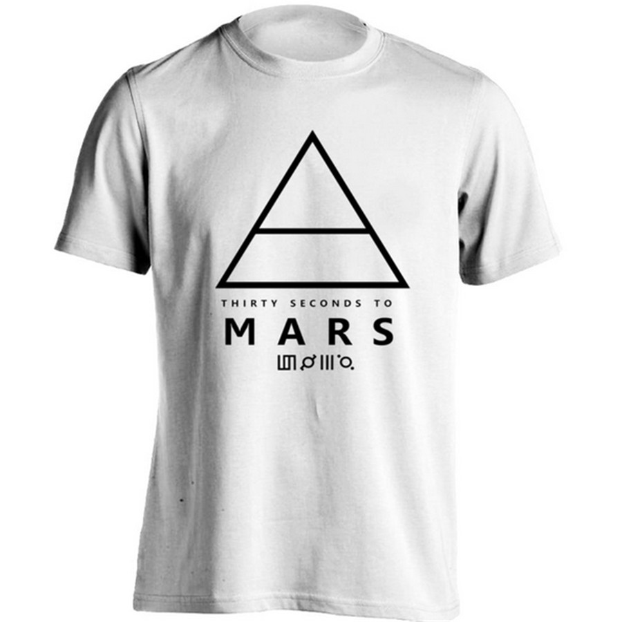 Design your own t shirt app - Rock Band 30 Seconds To Mars T Shirt Guy Tshirt Editor App Girl Personalized Design Tee