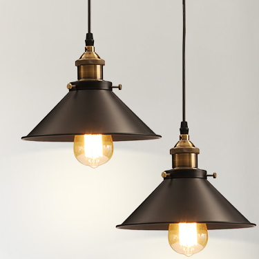 wholesale vintage industrial lighting copper lamp holder pendant light american aisle lights lamp edison bulb 110v cheap industrial lighting