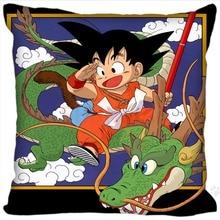 Custom Hot Sale Dragon Ball Z quare Pillowcases zipper Custom Pillow Case 20x20cm 35x35cm 40x40cm