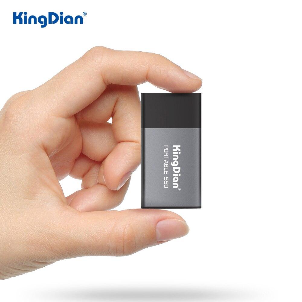 KingDian SSD externe 500gb Probable SSD 120gb 240gb USB 3.0 disque SSD externe pour ordinateur portable