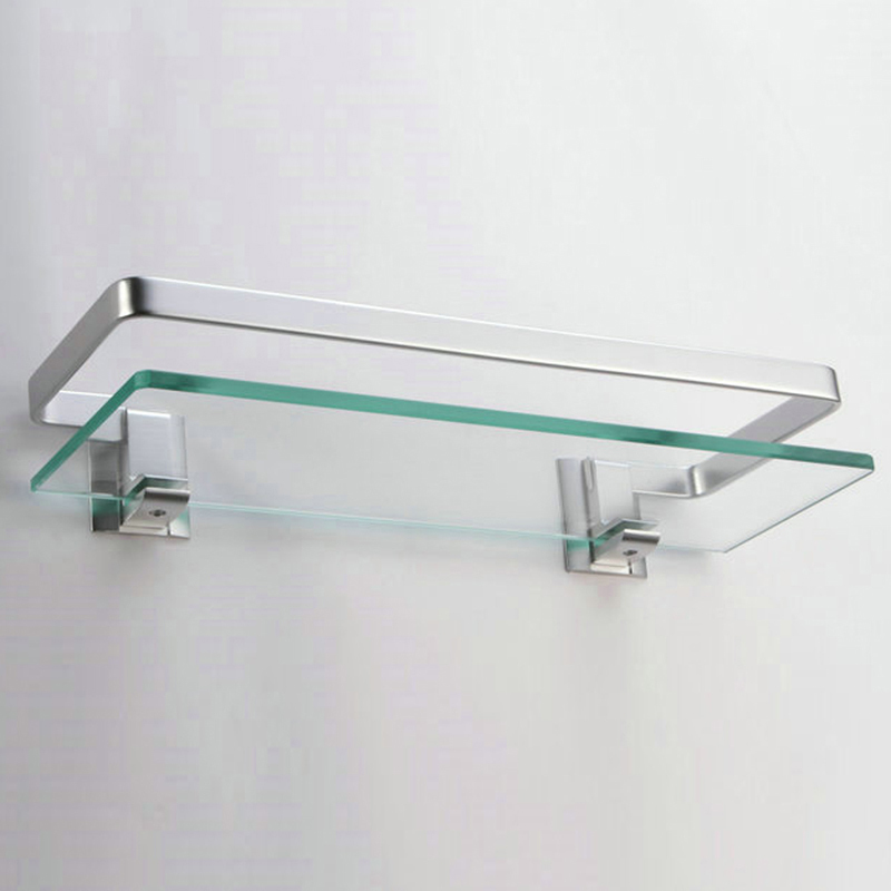 bathroom service glass manufacturer shelf