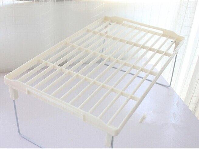 1 ud. Estante de drenaje Multi superposición tipo snap estante de refuerzo grueso plegable cocina sundry almacenamiento estantería OK 0089