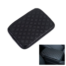 цена на Car Armrest Pad Cover Center Console Box Leather Cushion Armrests Pads Universal Auto Seat Protective Soft Mats Car-styling