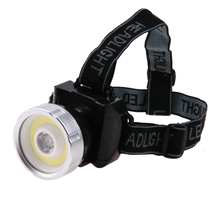 Super Bright COB LED Headlamp 2 Mode Head Light Lamp Flashlight For Hiking Camping Night Fishing Waterproof Headlamp