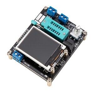 Image 4 - Esr メータ GM328A トランジスタテスター液晶ダイオード静電容量、 esr 電圧周波数 pwm 方形波信号発生器