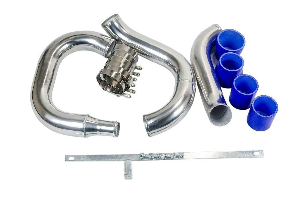 PQY-спереди интеркулер трубопроводов трубы комплект для MITSUBISHI LANCER EVO 4 5 6 Новый Синий PQY-PK3501