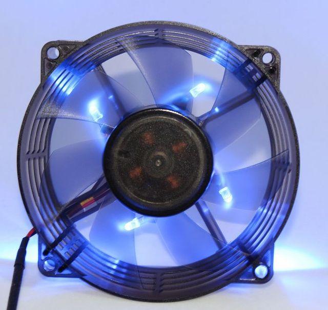9225 9cm 9 cm blue color lamp ball fan chassis cooling fan