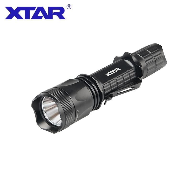 XTAR TZ20 lampe de poche tactique CREE XM-L2 U2 LED max 840 lumens distance de faisceau 200 mètre torche de poche pour sauvetage de recherche en plein air