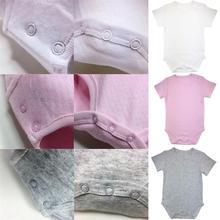 ACDC 6-24M Newborn Baby Girl Boys Short Sleeve Romper Jumpsuit Onesie