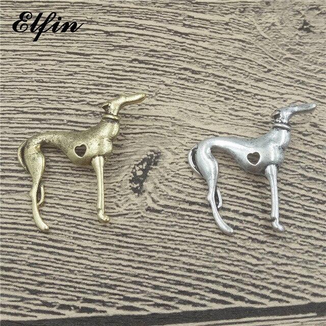 שדוני טרנדי איטלקי גרייהאונד תליוני אופנה כלב תכשיטי גריי Hhound ויפט תליון נשים תכשיטים